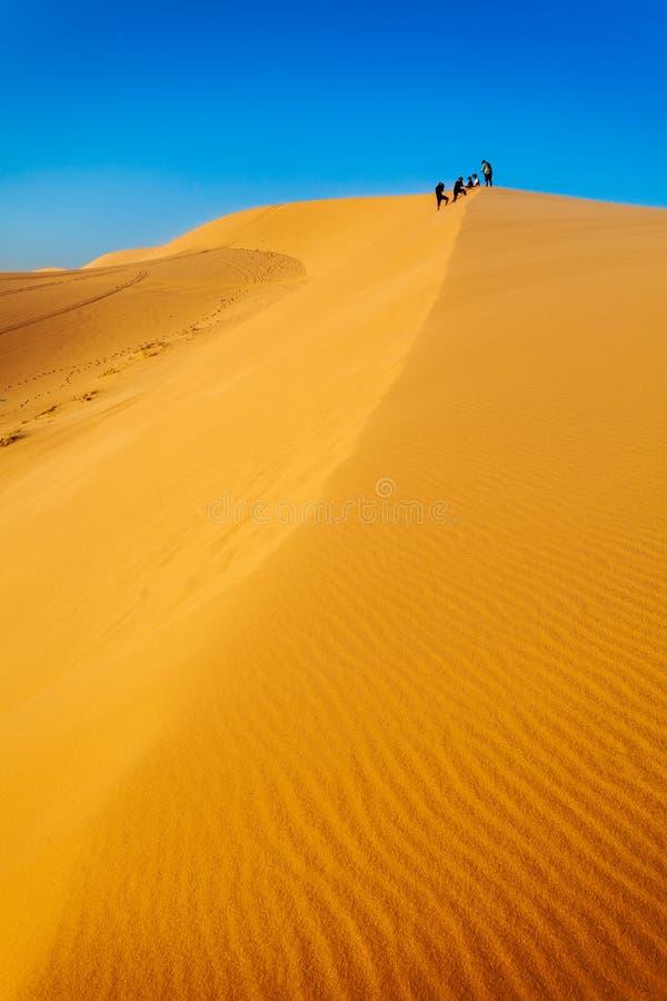 沙丘在美奈 免版税库存照片