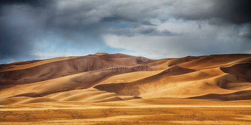 沙丘极大的沙子 图库摄影