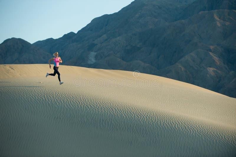 沙丘赛跑者 图库摄影