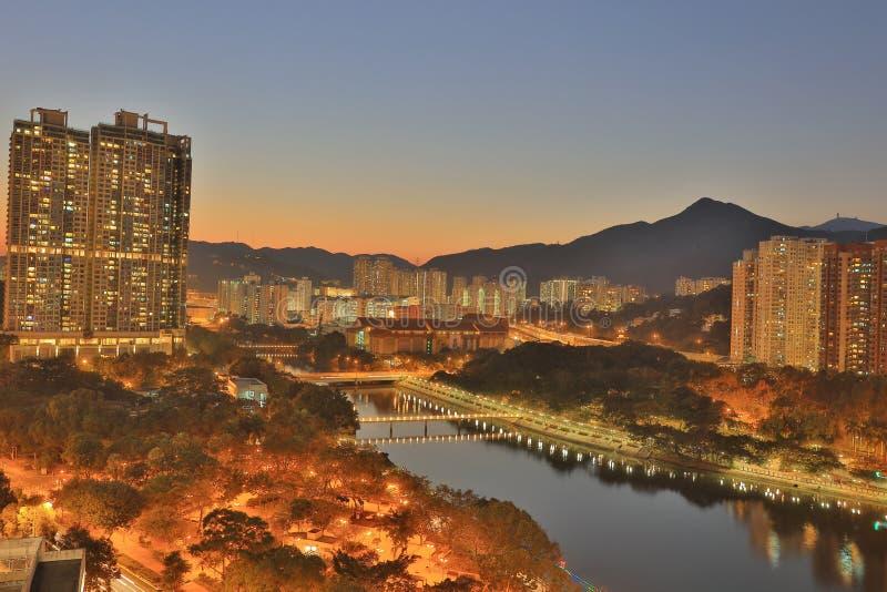 沙公锡,香港 免版税库存照片