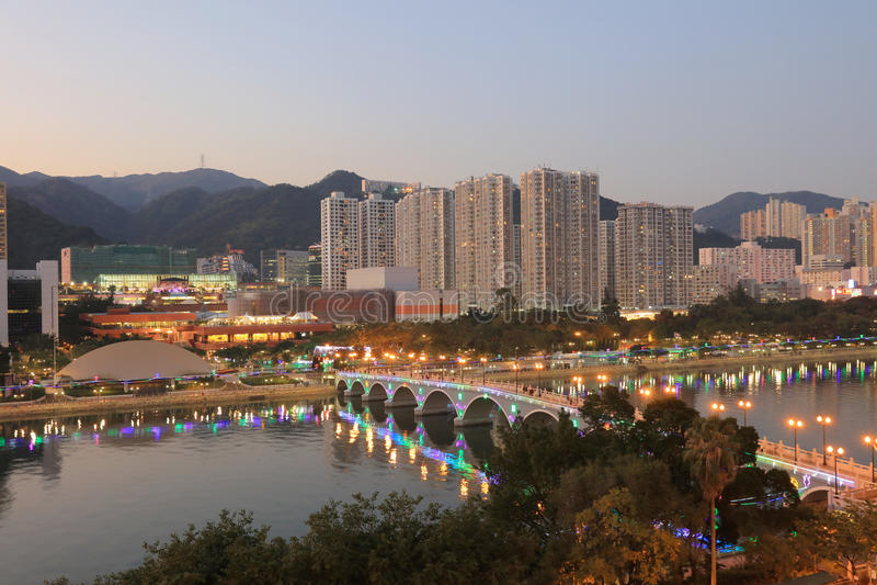 沙公锡,香港 库存照片