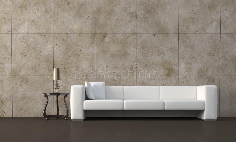沙发 向量例证