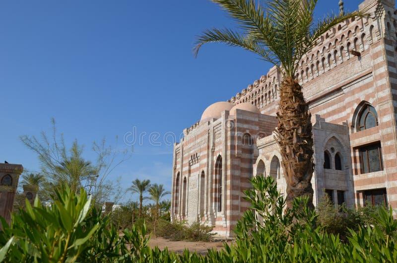 沙姆沙伊赫是在红海的岸的一个令人难忘的休假区 免版税库存照片