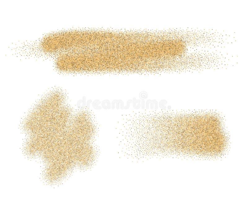 沙子传染媒介元素 皇族释放例证