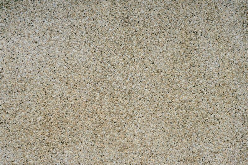沙子墙壁纹理背景 免版税图库摄影