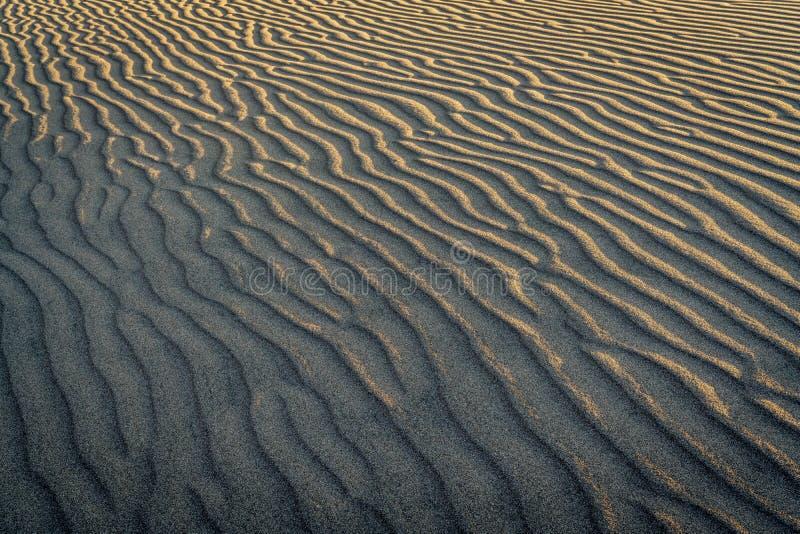 沙子声调纹理样式 免版税库存图片