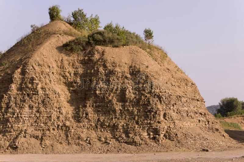 沙子山 乌拉尔风景 browne 沙漠喜欢 库存照片