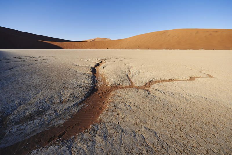 沙子形成 免版税库存图片