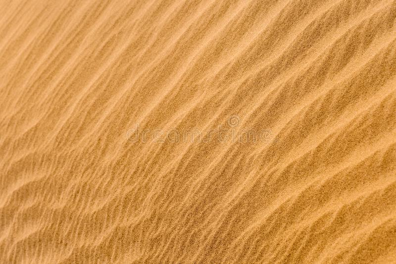 沙子模式 免版税库存照片