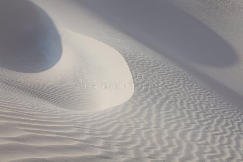 沙子沙漠表面 免版税库存照片