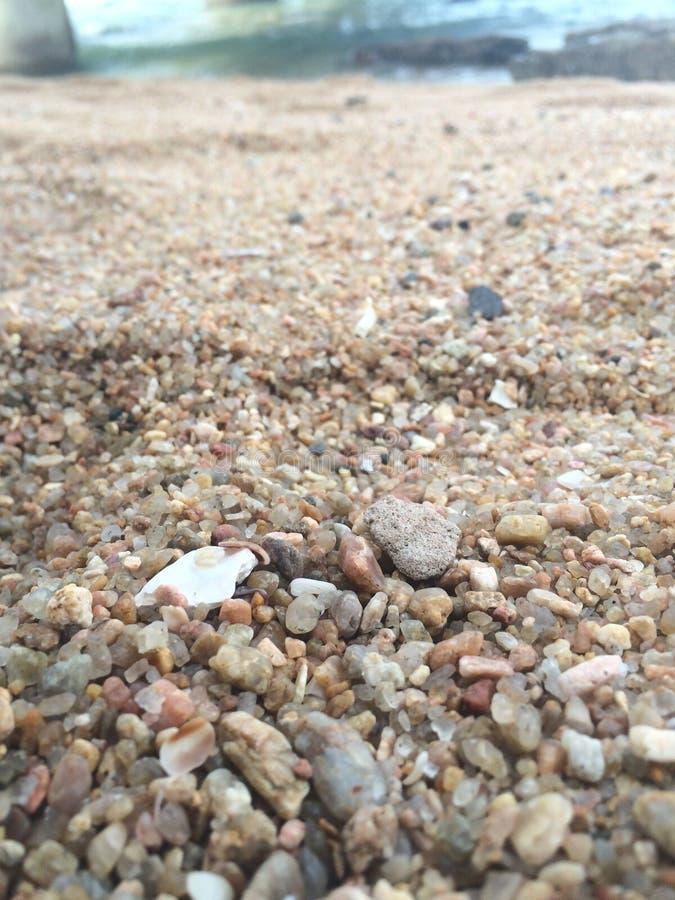 沙子海滩冷stillhappy 库存照片