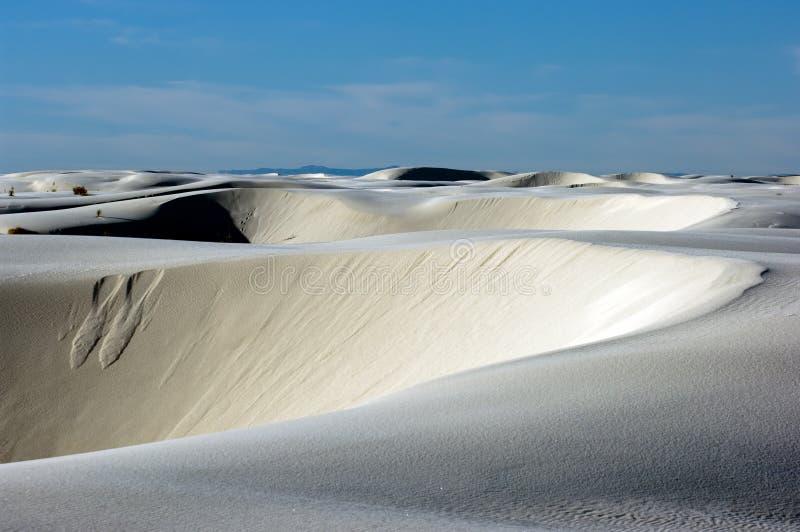 沙子白色 免版税库存照片