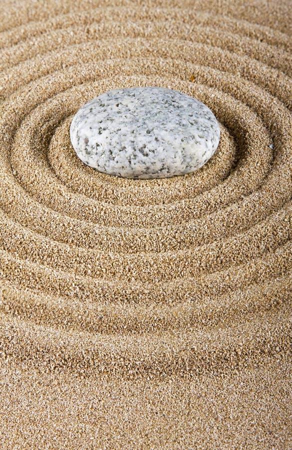 沙子石头 库存图片