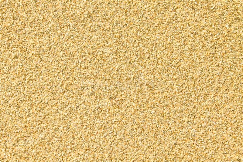 沙子纹理黄色 免版税图库摄影