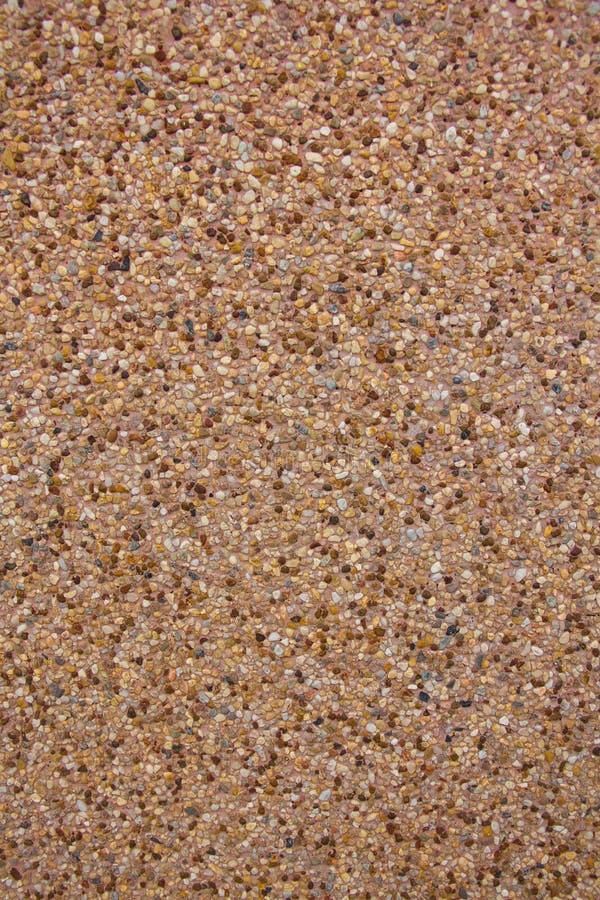 沙子表面洗涤 免版税库存照片