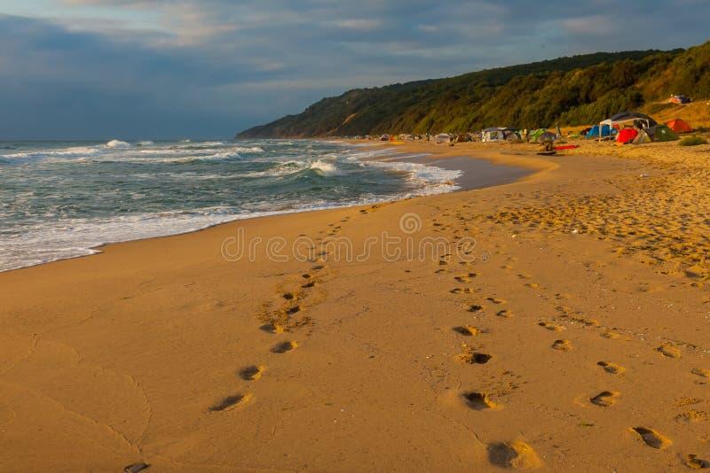 Download 沙子跟踪 库存图片. 图片 包括有 视图, 早晨, 建造者, 海运, 沙子, 季节, 树木繁茂, 云彩, 风景 - 62527537