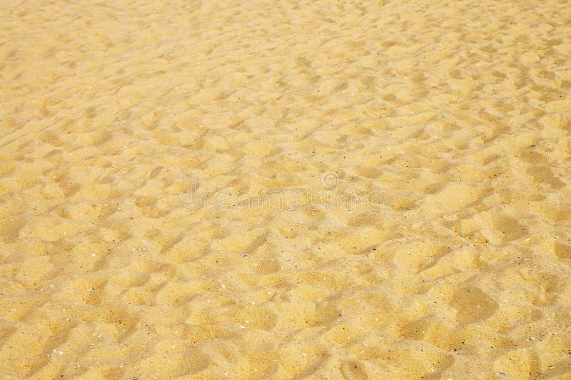 沙子黄色 免版税库存照片