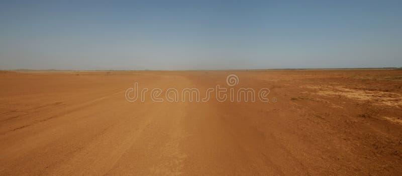 沙尘暴 免版税库存照片