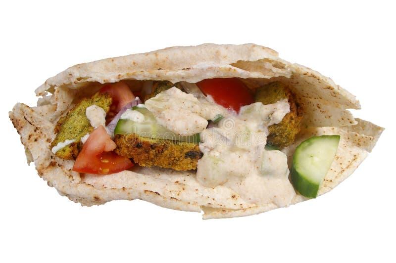 沙拉三明治 库存照片