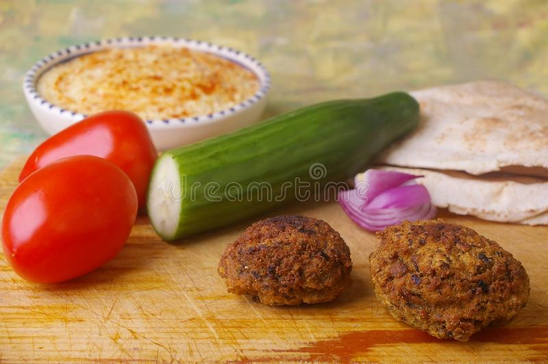 沙拉三明治 库存图片