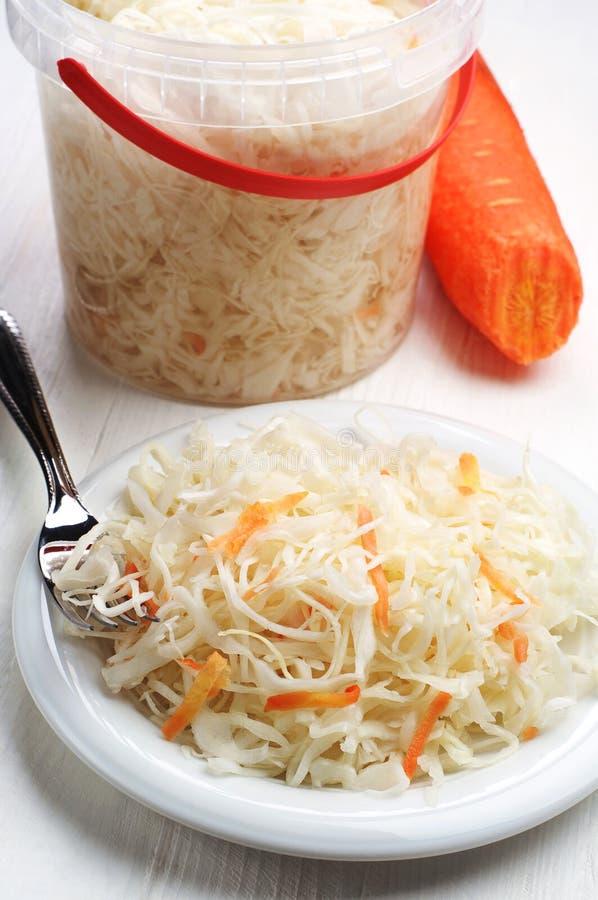 沙拉用圆白菜 库存照片