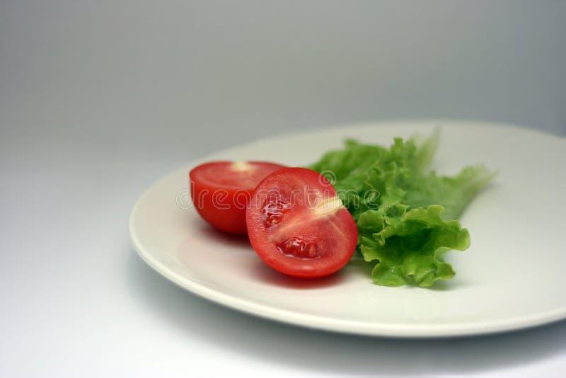 沙拉蕃茄 库存图片