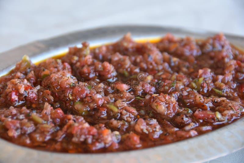 沙拉 概念健康食物 免版税库存图片