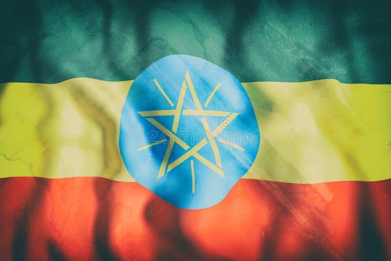 沙文主义情绪的埃塞俄比亚 向量例证