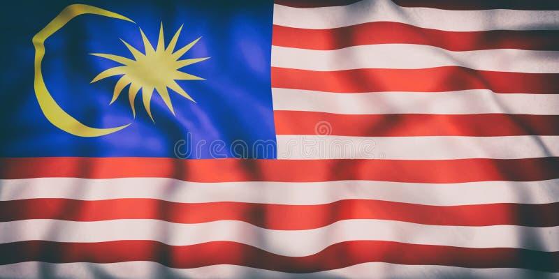 沙文主义情绪的马来西亚 向量例证