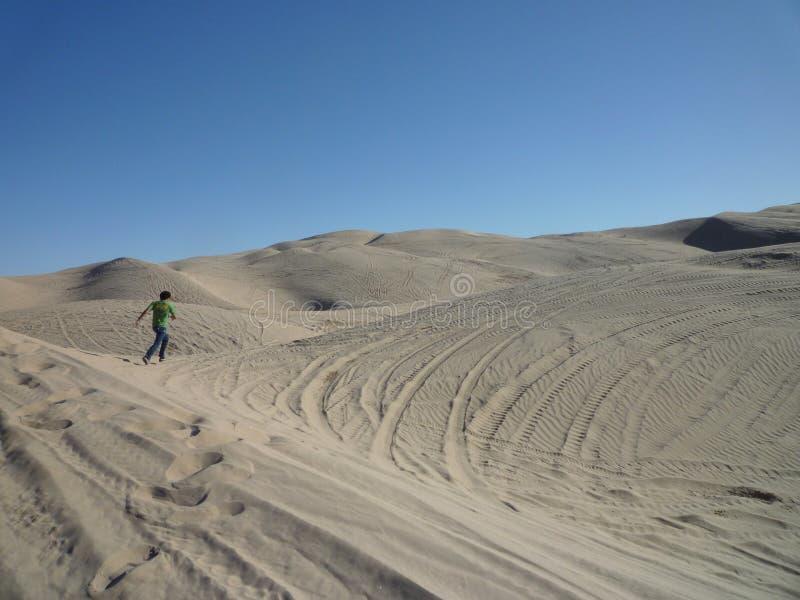 沙漠人 库存照片