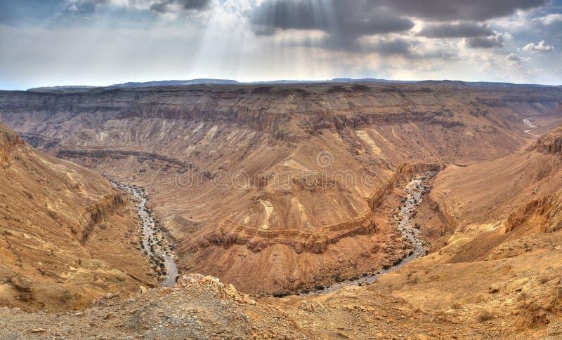 沙漠以色列yehuda 免版税库存图片