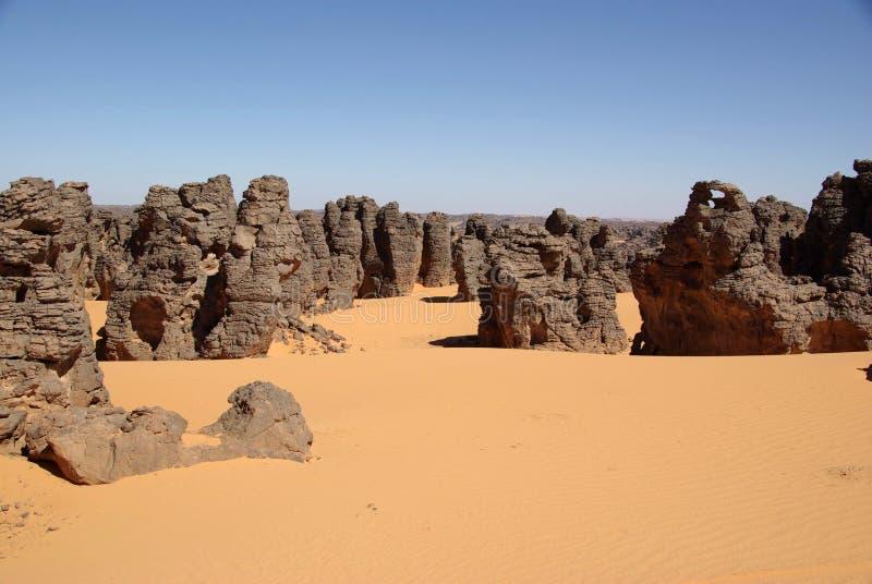 沙漠利比亚 免版税库存图片