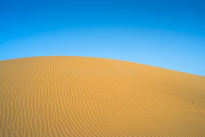 沙漠在中间亚洲 库存图片