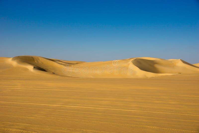 沙漠在埃及 库存照片