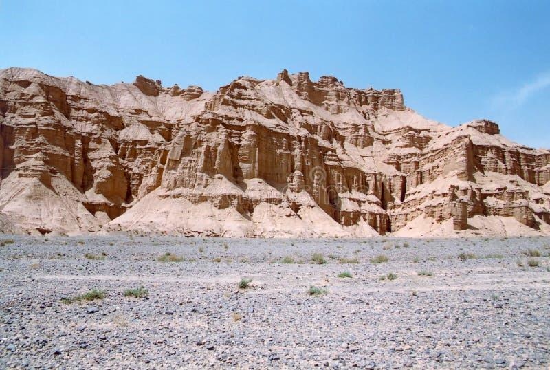 沙漠地形 图库摄影