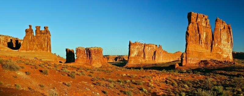 沙漠岩石犹他 免版税库存图片