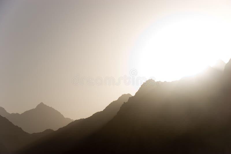 沙漠挂接 免版税库存图片