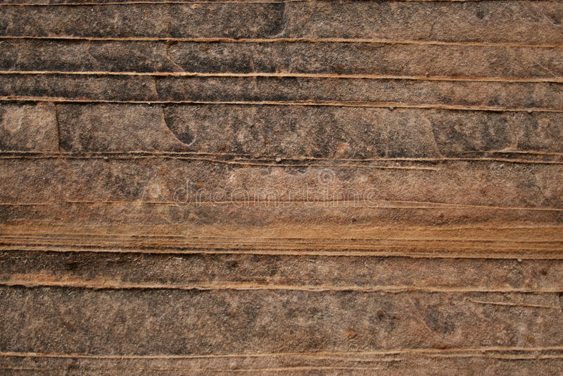 沙漠水平的砂岩纹理 库存图片