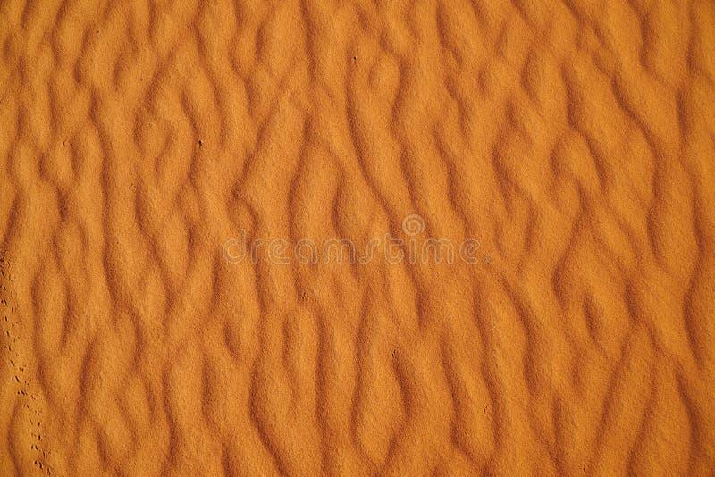 沙漠沙子纹理 免版税库存照片