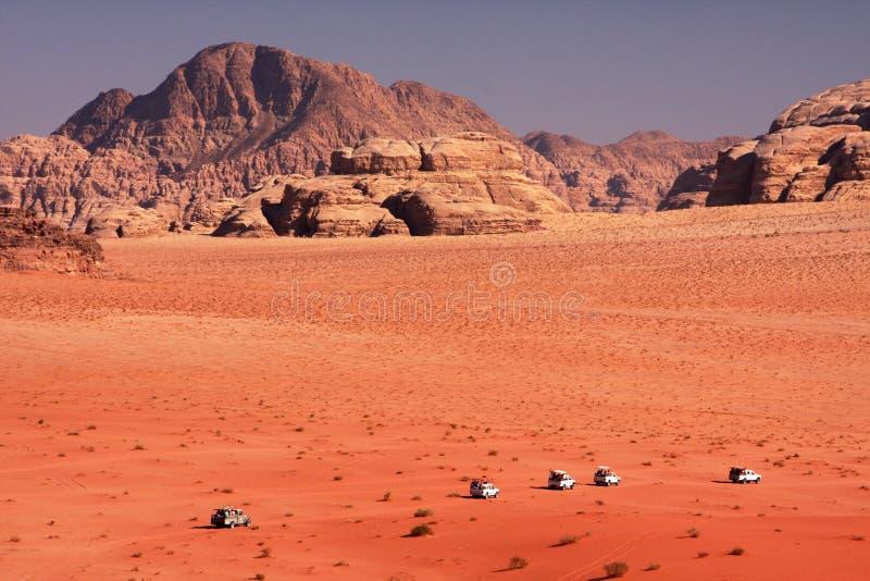 沙漠远征 免版税库存照片