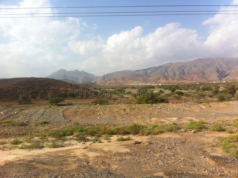 沙漠风景摩洛哥 免版税图库摄影