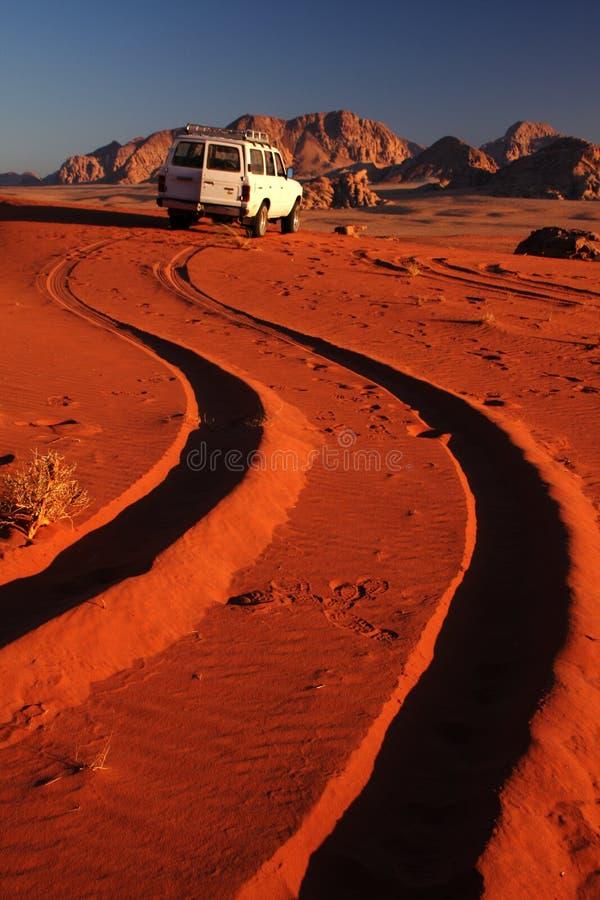 沙漠驱动器 免版税库存图片