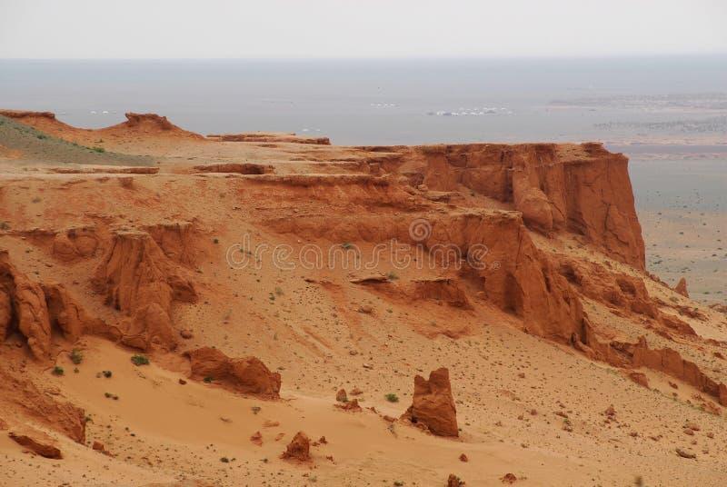 沙漠gobi蒙古 免版税库存图片
