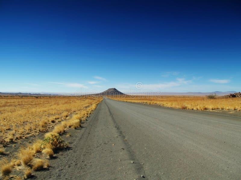 沙漠kalahari路 库存图片