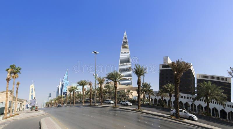 沙特阿拉伯利雅得市 免版税图库摄影