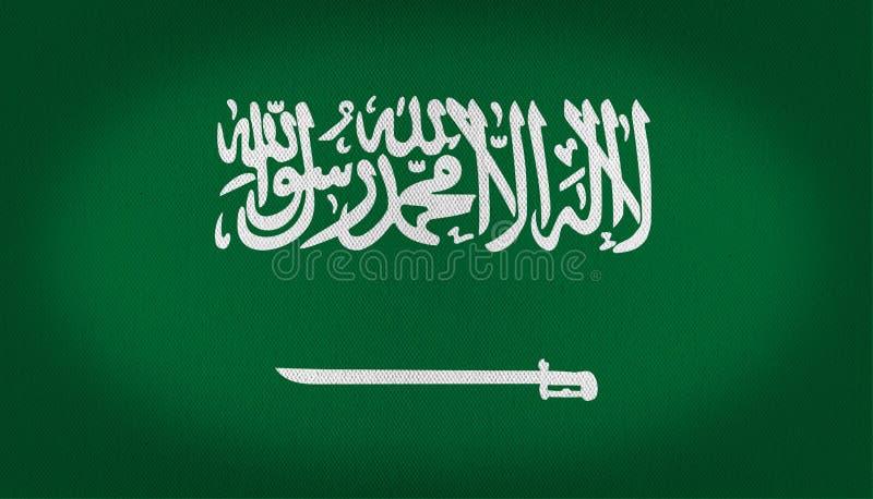 沙特阿拉伯旗子 皇族释放例证