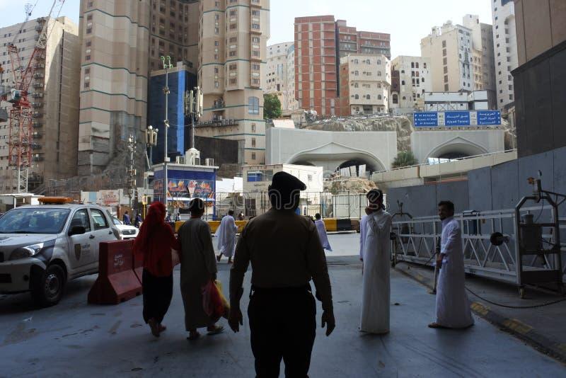 沙特阿拉伯警察 库存照片