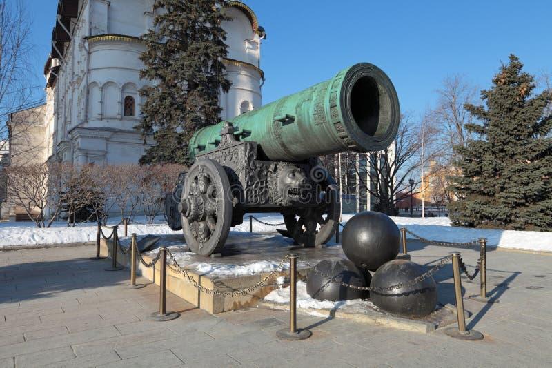 沙皇大炮 库存图片