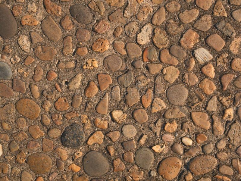 沙粒墙壁纹理和样式 库存图片