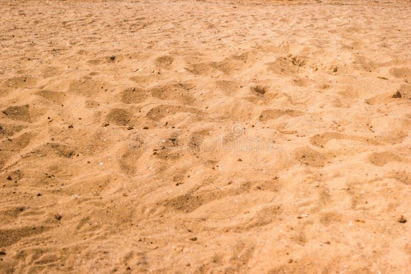 黄沙纹理 图库摄影